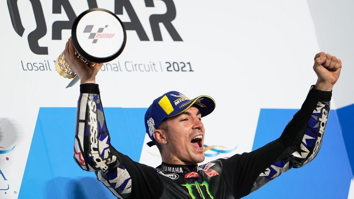 Viñales, líder de MotoGP cuatro años después