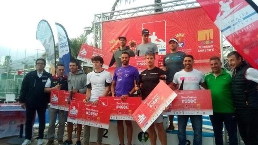 Walter Bouzán, sexto en la Atlantic Ocean disputada en Lanzarote