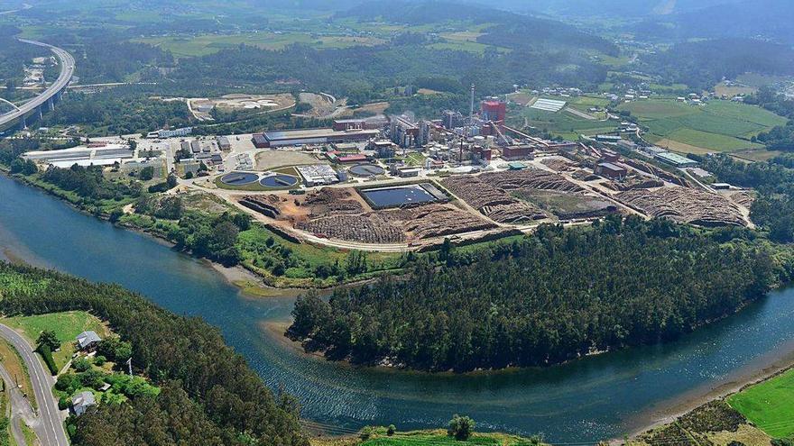 Ence reanuda la producción en la planta de Navia tras la parada técnica anual