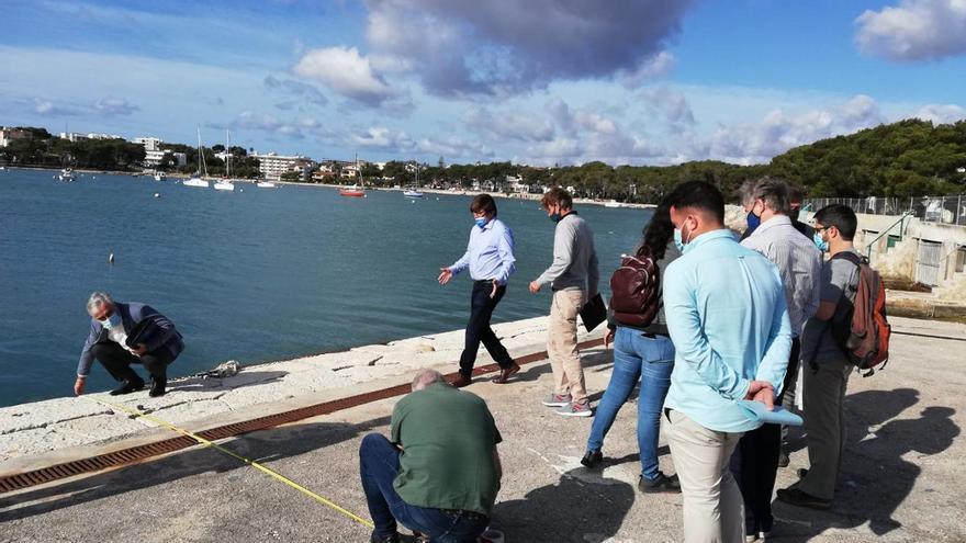 Ports IB hará tres catas en el muelle de sa Duana de Portocolom