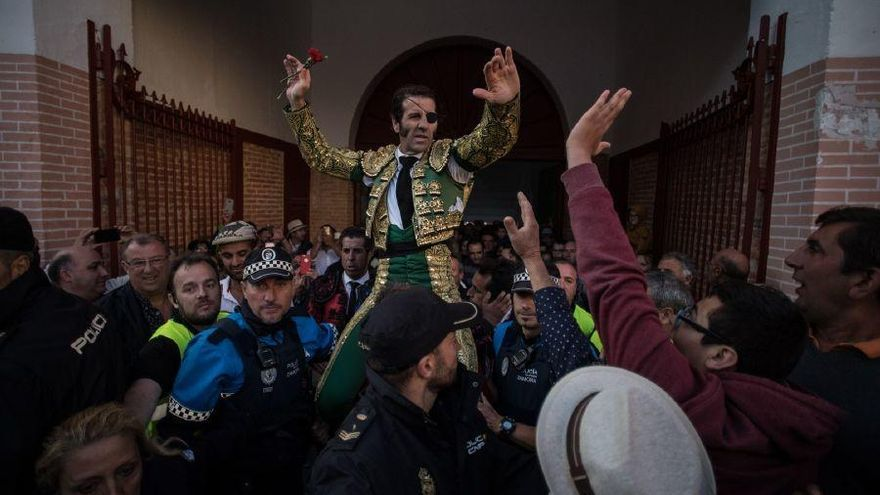 Padilla, puerta grande en Zamora