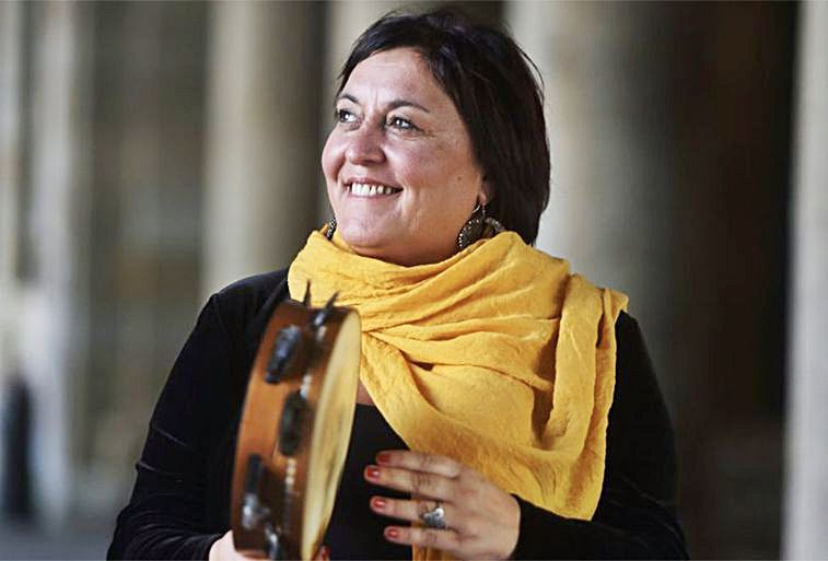 A cantante e compositora Uxía.   | // L.O.