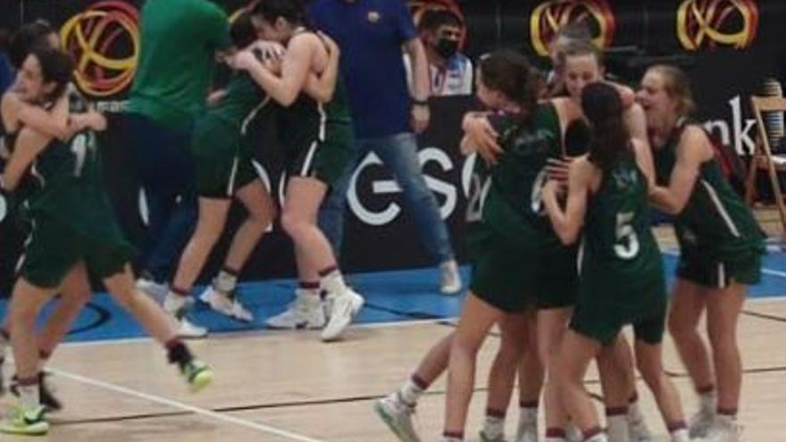 El Unicaja infantil femenino, finalista del Campeonato de España