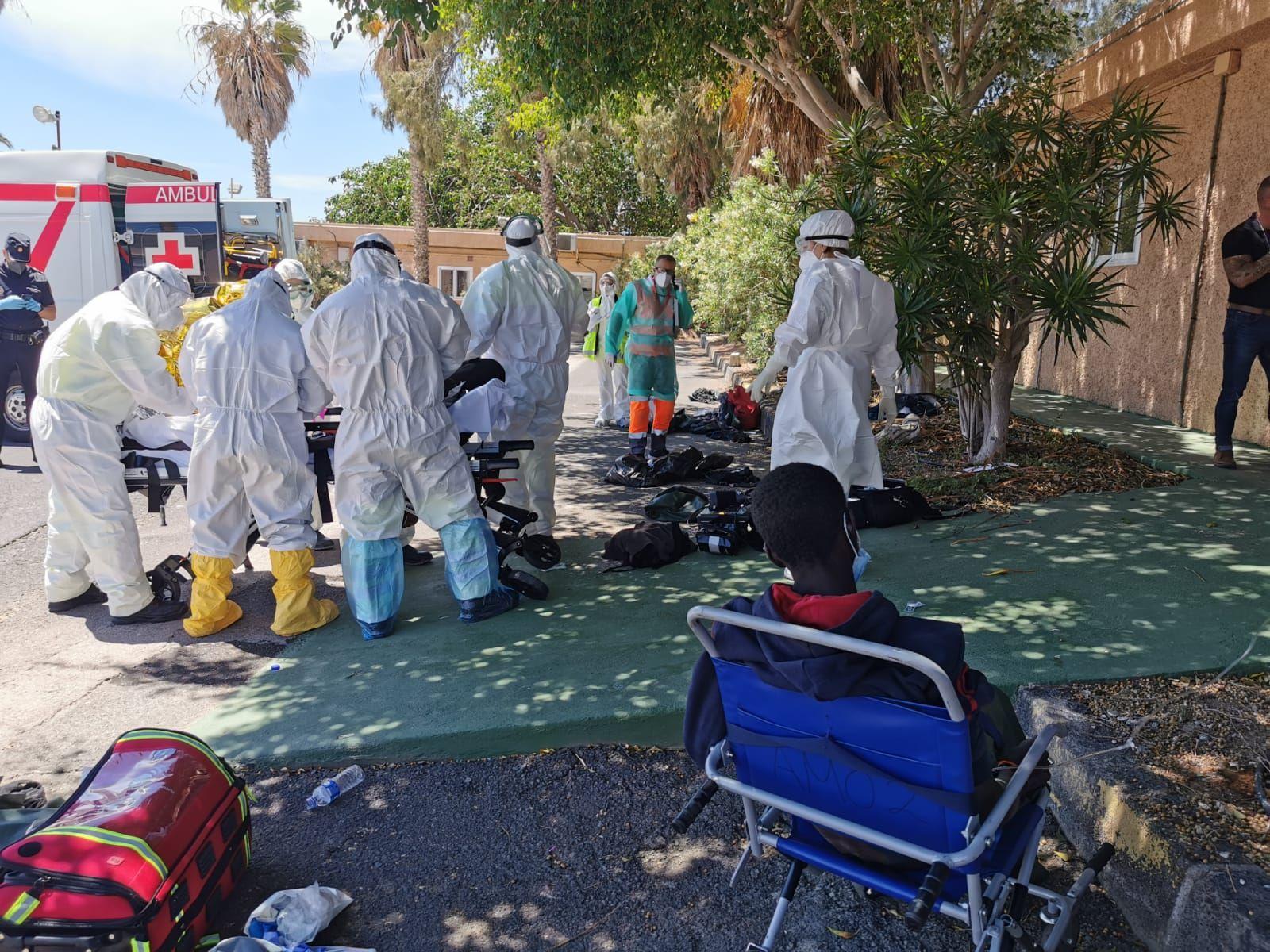 Rescate de inmigrantes a la deriva al sur de El Hierro