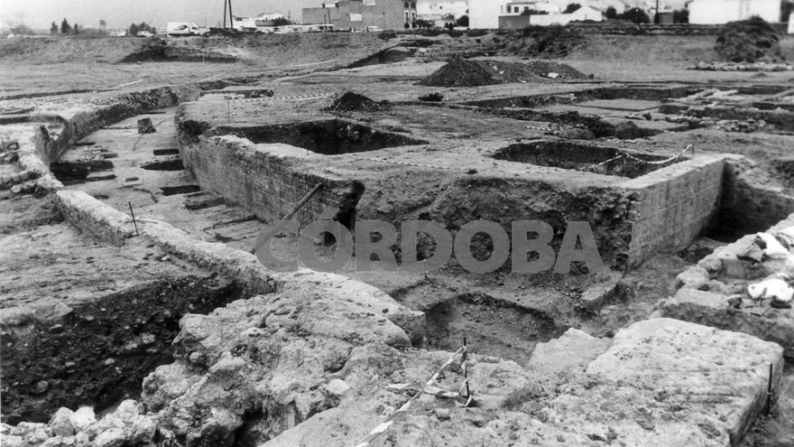 1992   El yacimiento de Cercadilla, al descubierto