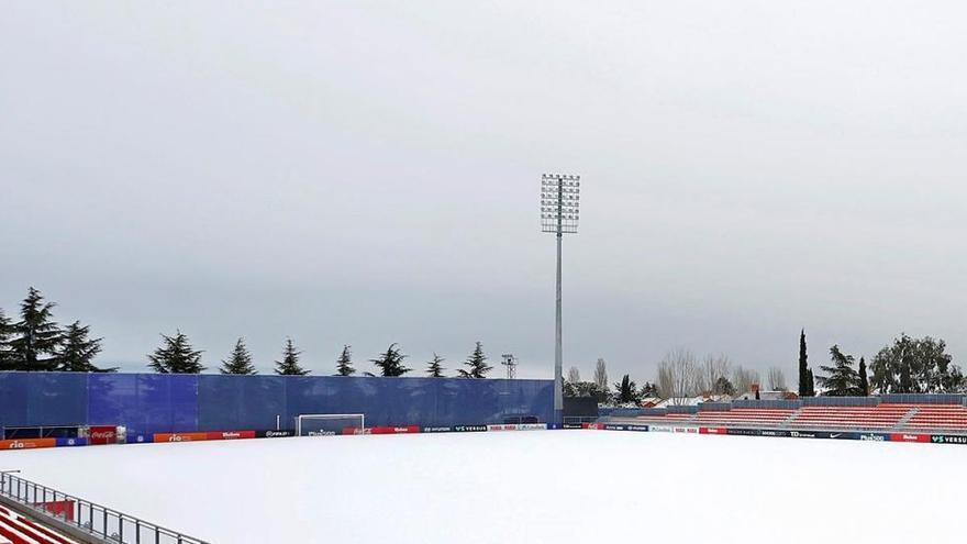 Aplazados por el temporal tres partidos de Segunda y suspendido el Leganés-Almería