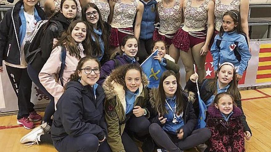 Buen nivel del Club Patín Virgen de La Luz en el Campeonato de España