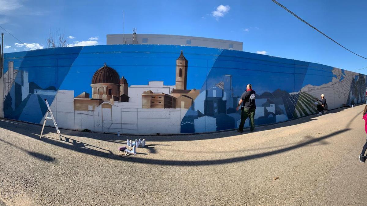 El graffiti llega al Recinto Ferial de Requena