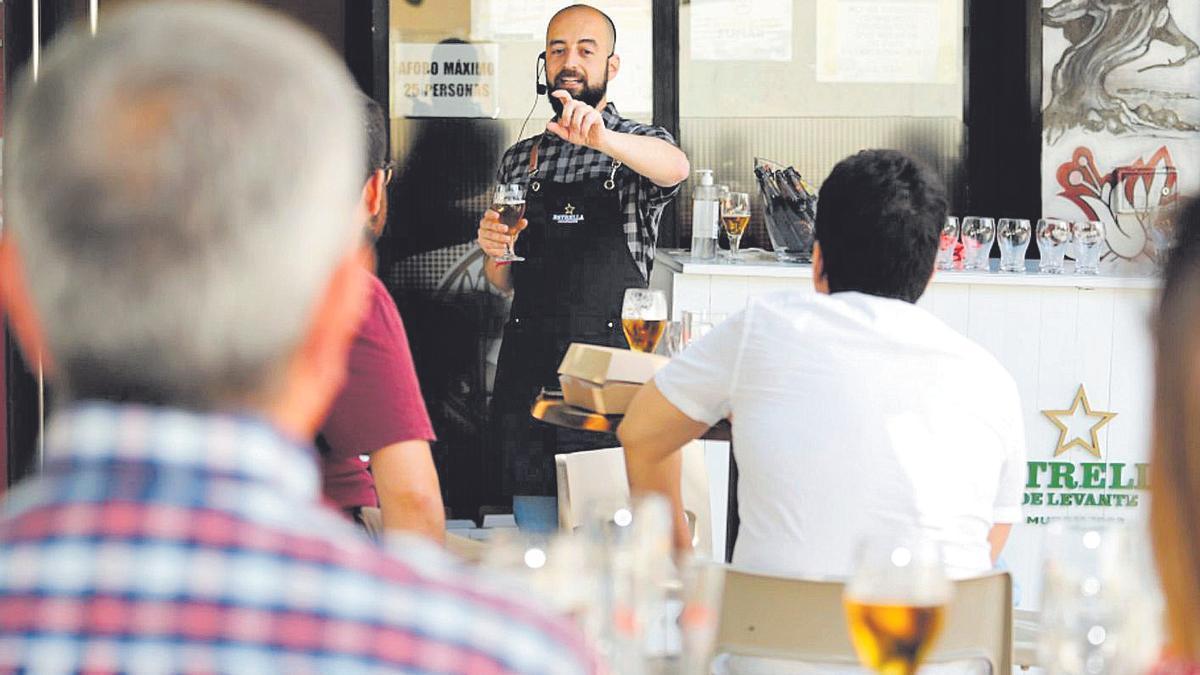 Estrella de Levante ha organizado sus propias catas maridaje para grupos de veinte personas