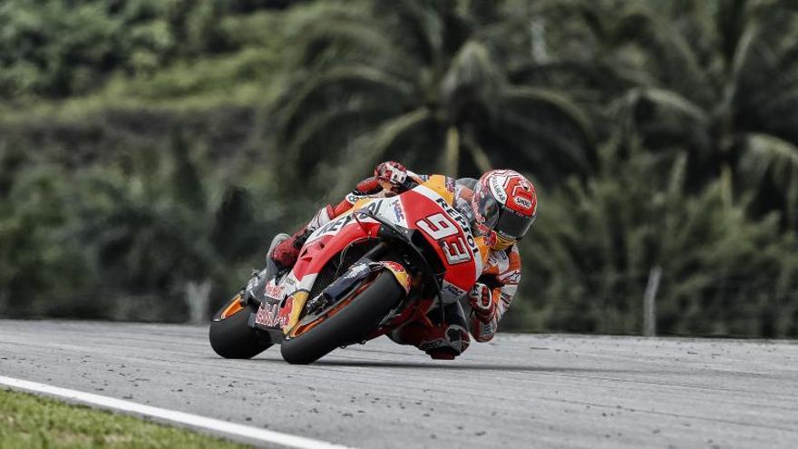 """Márquez: """"Estoy casi al cien por cien para el GP de Qatar"""""""