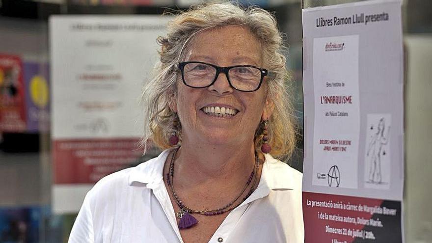 Margalida Bover: «Lo más triste fue que la izquierda no pidió el indulto de Puig Antich»