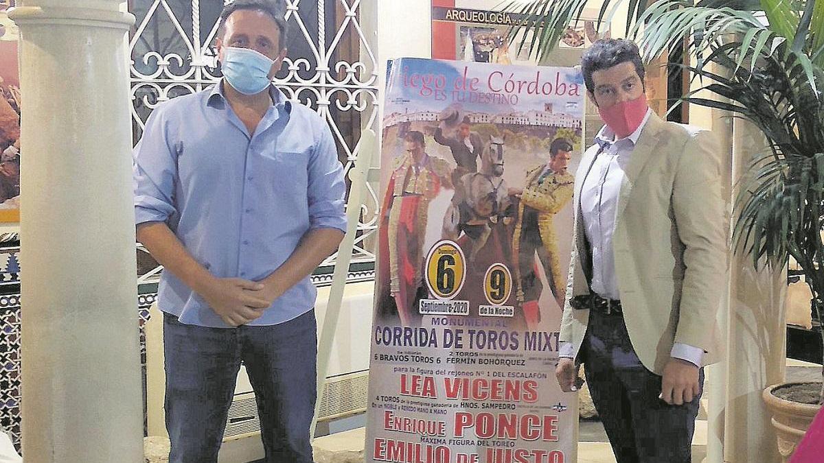 Enrique Ponce liderará el cartel en la cita prieguense