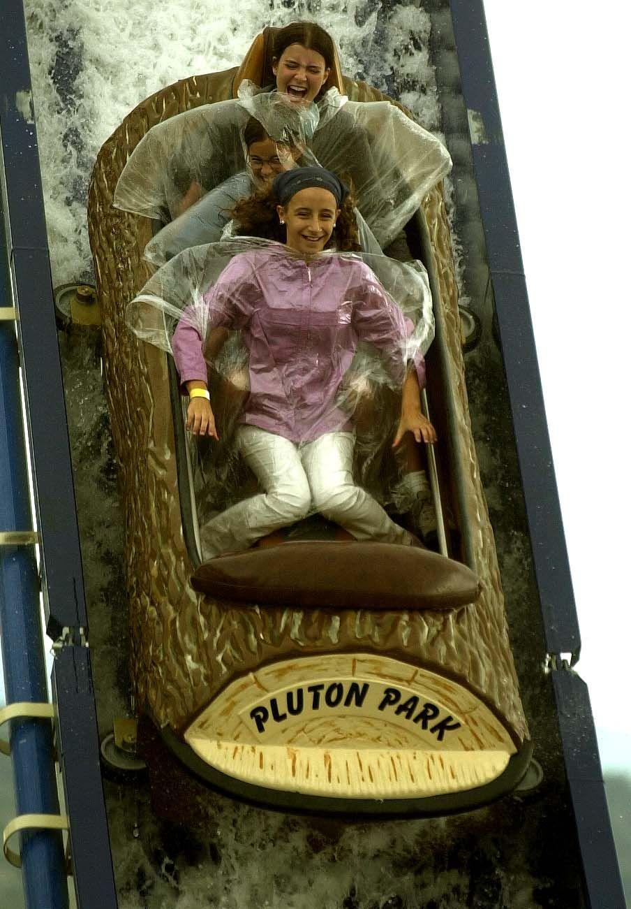 Así era Pluton Park, el primer y único parque de atracciones de Galicia
