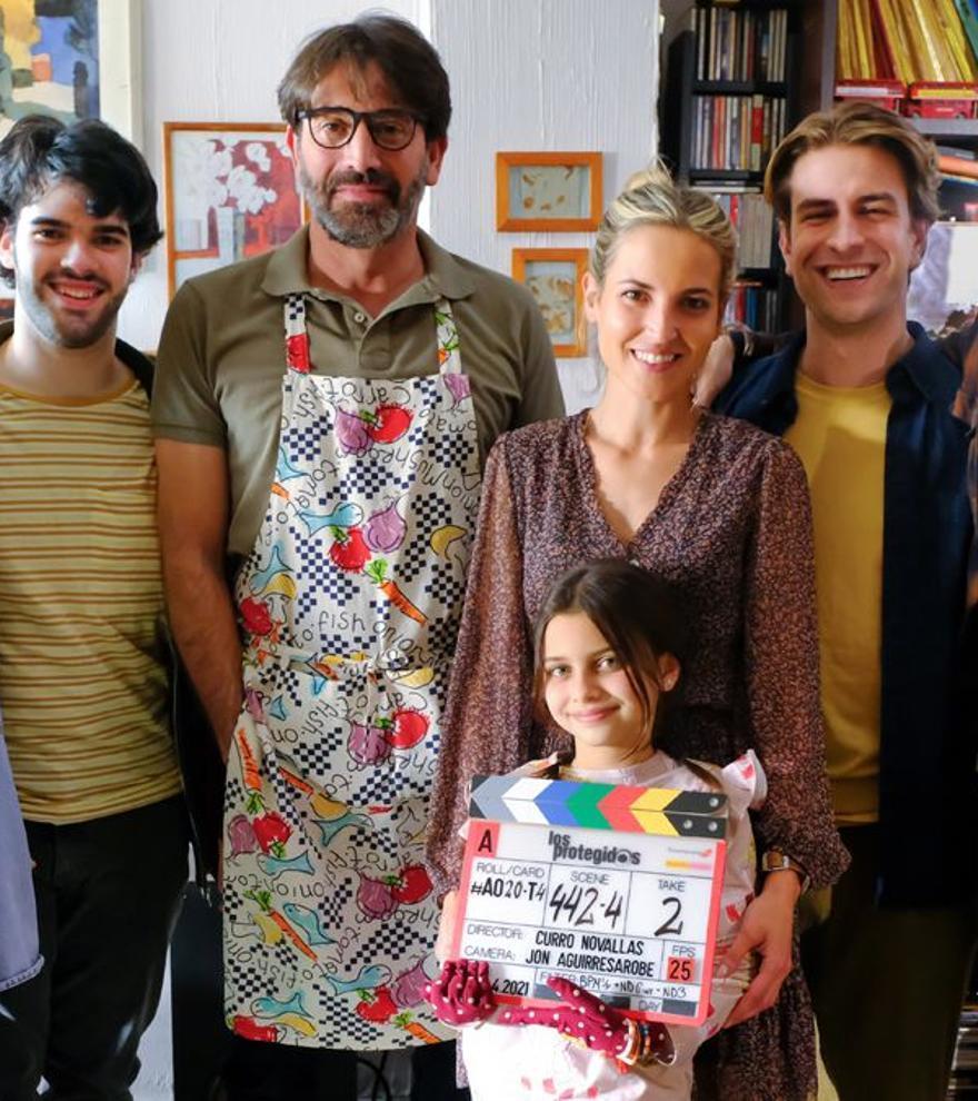 El regreso de 'Los protegidos' comienza su rodaje y confirma su reparto al completo