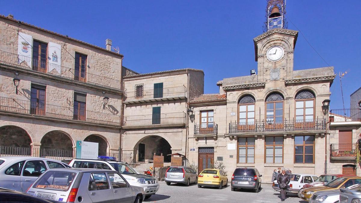 Fotografía de archivo del Ayuntamiento de Fermoselle