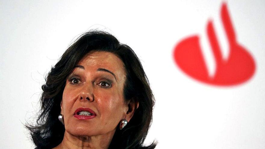 El Santander se aleja de la posibilidad de participar en una fusión bancaria