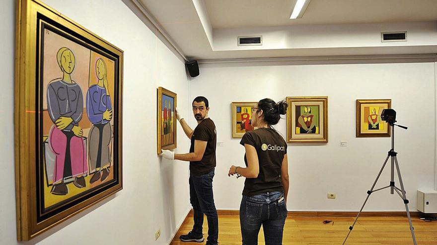 La Fundación Seoane hará inventario de las obras que se le atribuyen al artista