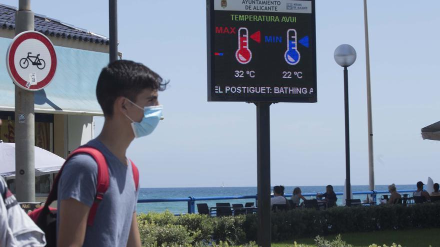 El tiempo en Alicante: octubre arranca con máximas de 32 grados