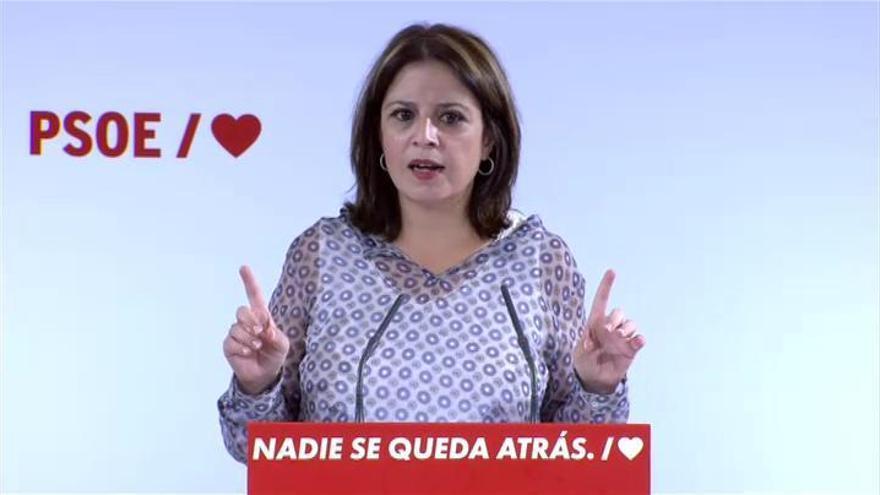 """Lastra acusa al PP de """"destrozar y depredar"""" la sanidad pública en Madrid"""