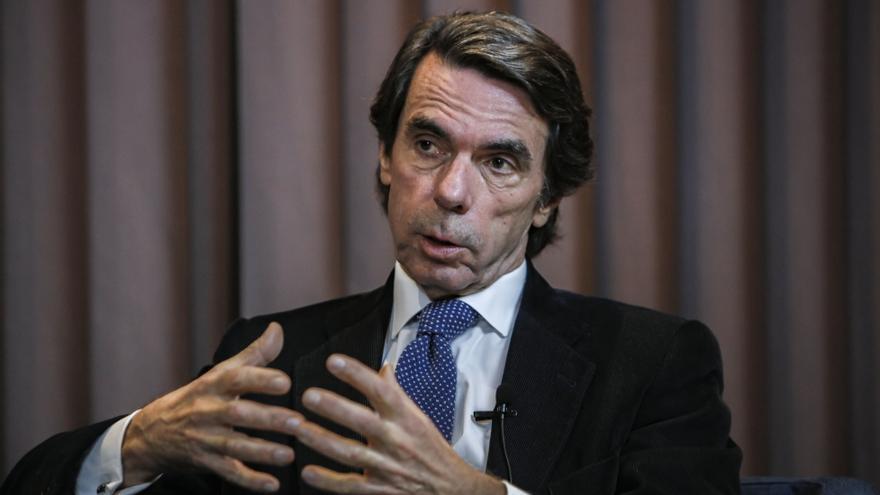 """Aznar en el juicio por la caja B del PP: """"El señor Matas fue un buen ministro y un buen presidente de Baleares"""""""
