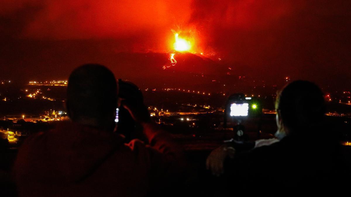 Las imágenes más impactantes de la erupción de La Palma