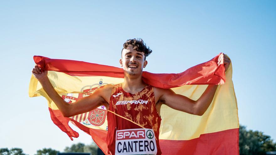 Subcampeón de Europa en su cuarta carrera al aire libre