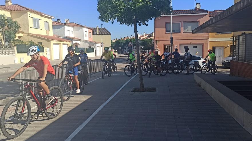 Bicicletada popular a Vilafant emmarcada en les Festes del Carme