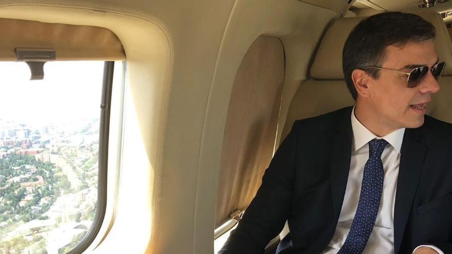 La Audiencia obliga al Gobierno a informar de viajes privados en avión de Sánchez