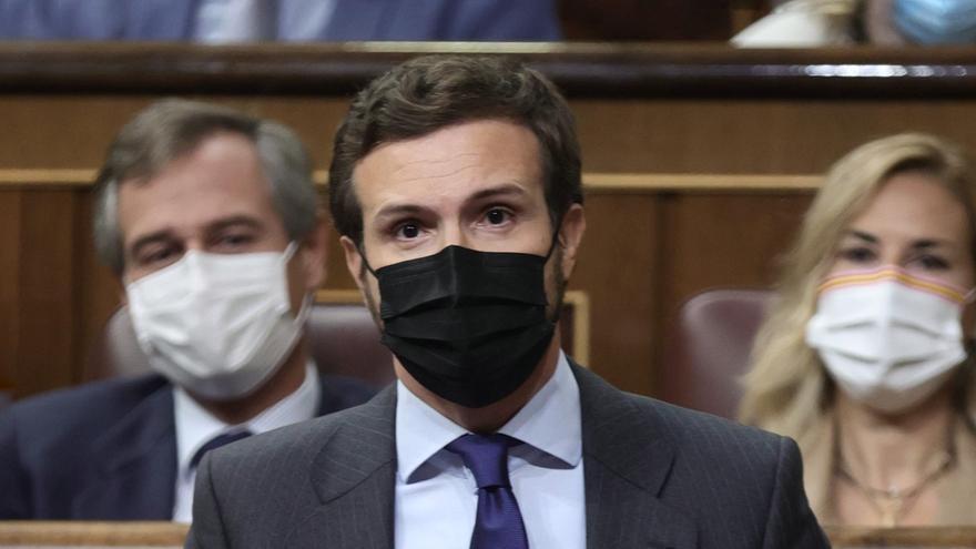 """Casado anuncia una enmienda a la totalidad a los Presupuestos por considerarlos una """"garantía de la ruina en España"""""""