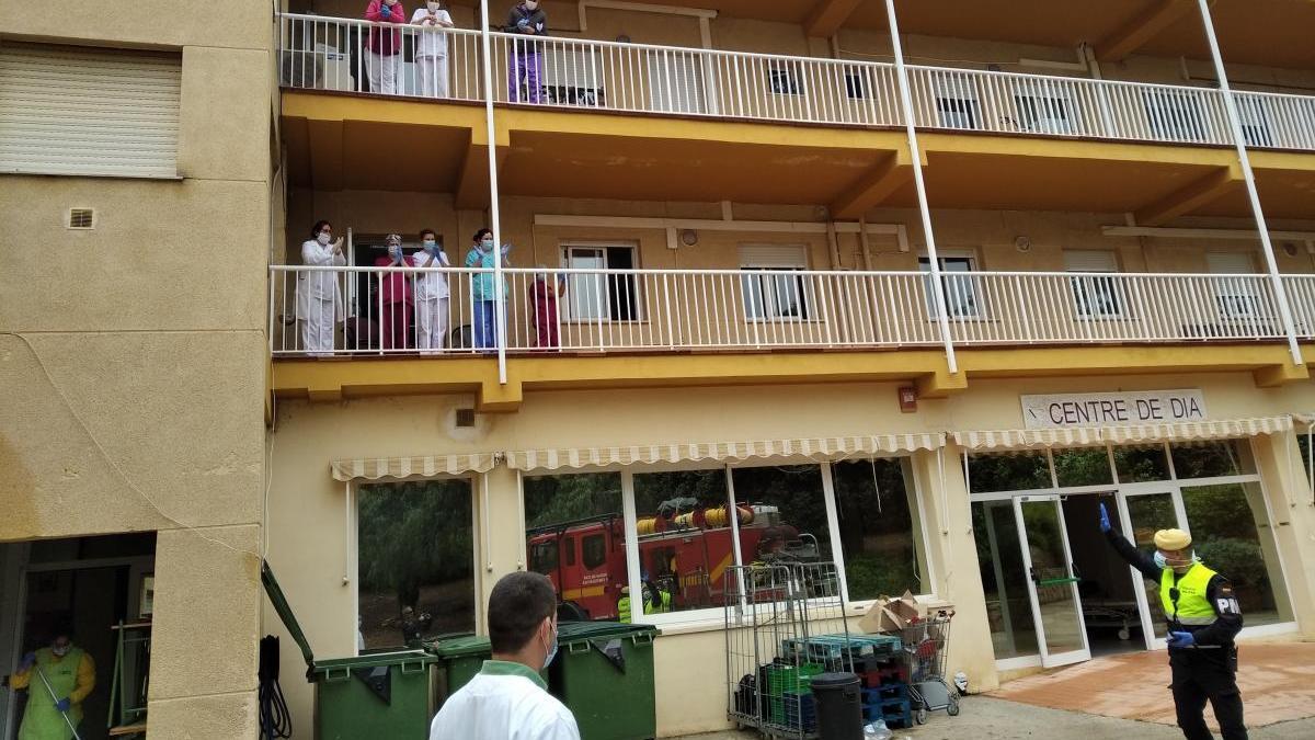Aíslan a los ancianos de una residencia de Dénia tras dar positivo un trabajador