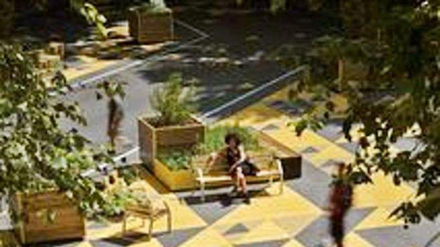 La guía del mobiliario urbano reversible llegará en octubre con las grandes plazas ya remodeladas