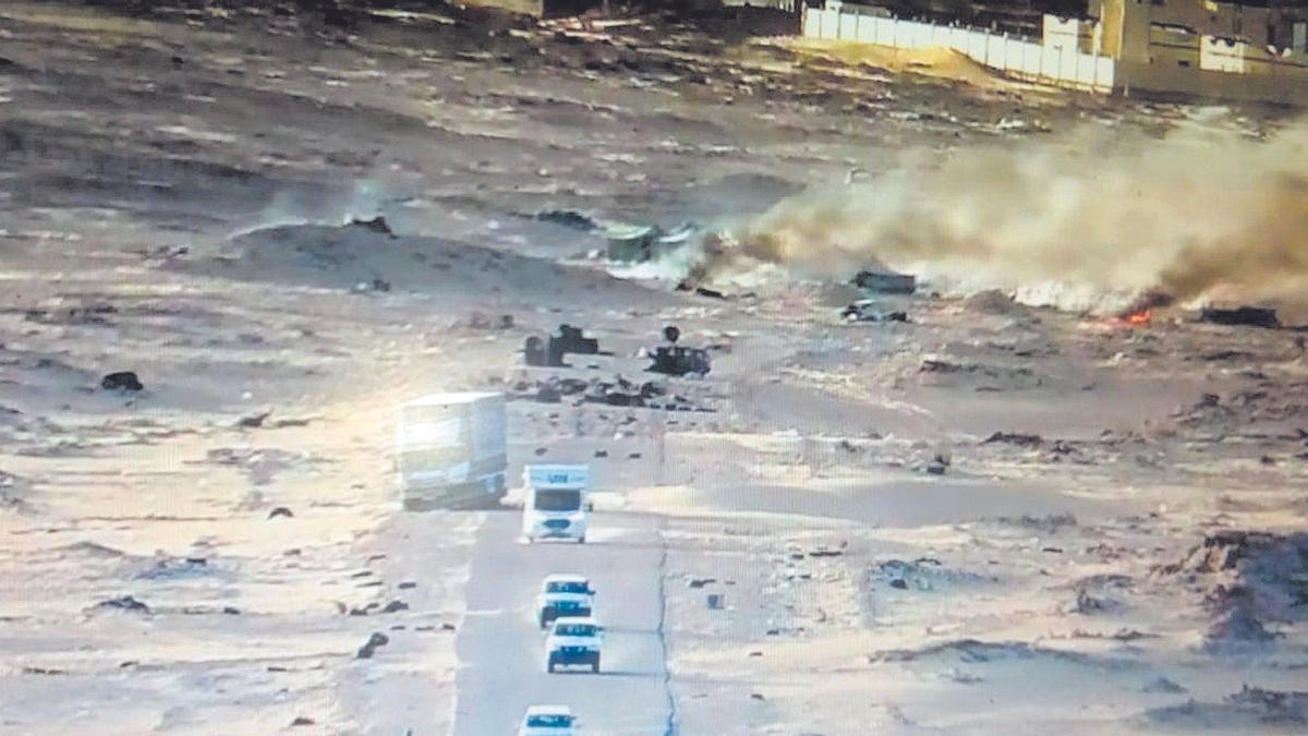 Marruecos inicia la obra de una carretera en la zona de fricción de Guerguerat
