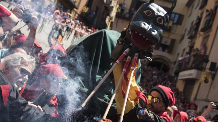 L'Ajuntament de Berga suspèn a última hora la desfilada de Patum de demà
