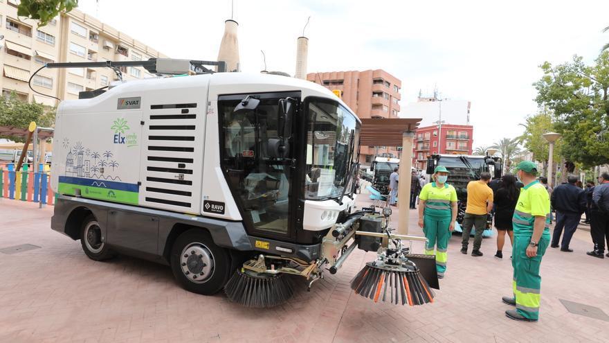 Una gasinera para cargar los camiones de basura