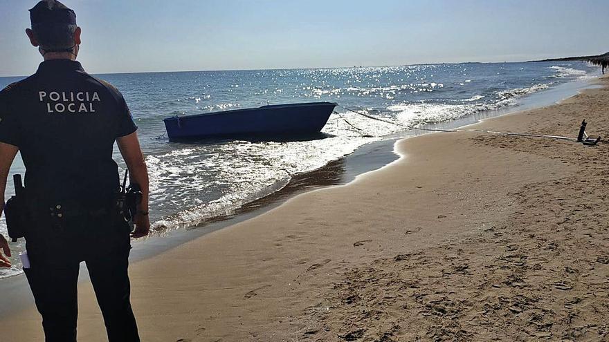 La costa valenciana recibe siete pateras con 72 inmigrantes  en solo un fin de semana