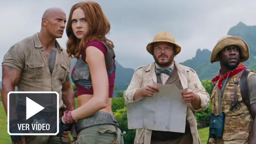 La secuela de 'Jumanji' y lo nuevo de Woody Allen llegan a las salas de cine