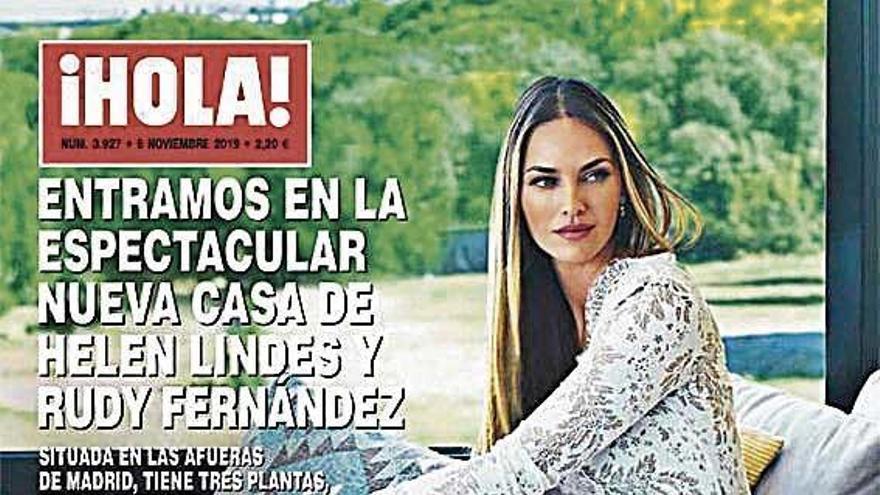 ¡Hola! entra en la nueva casa de Rudy Fernández y Helen Lindes