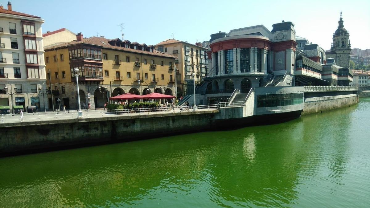 Imagen de archivo de la ría de Bilbao