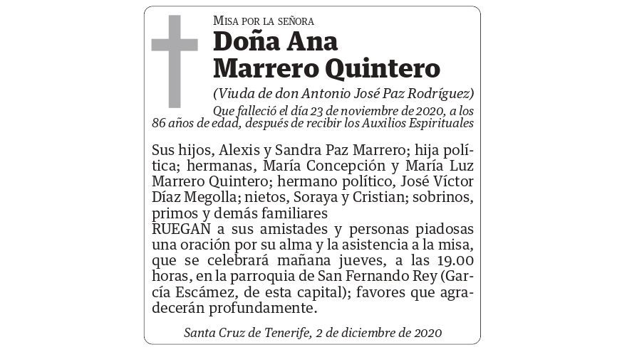 Ana Marrero Quintero