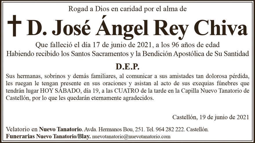D. José Ángel Rey Chiva