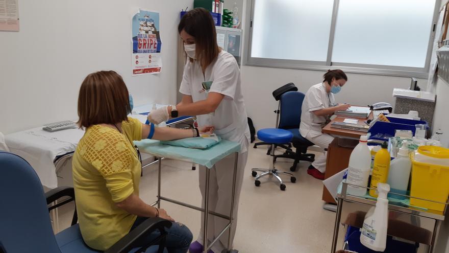Nueve de cada diez pacientes del hospital de Peñarroya fueron atendidos en acto único en el 2020
