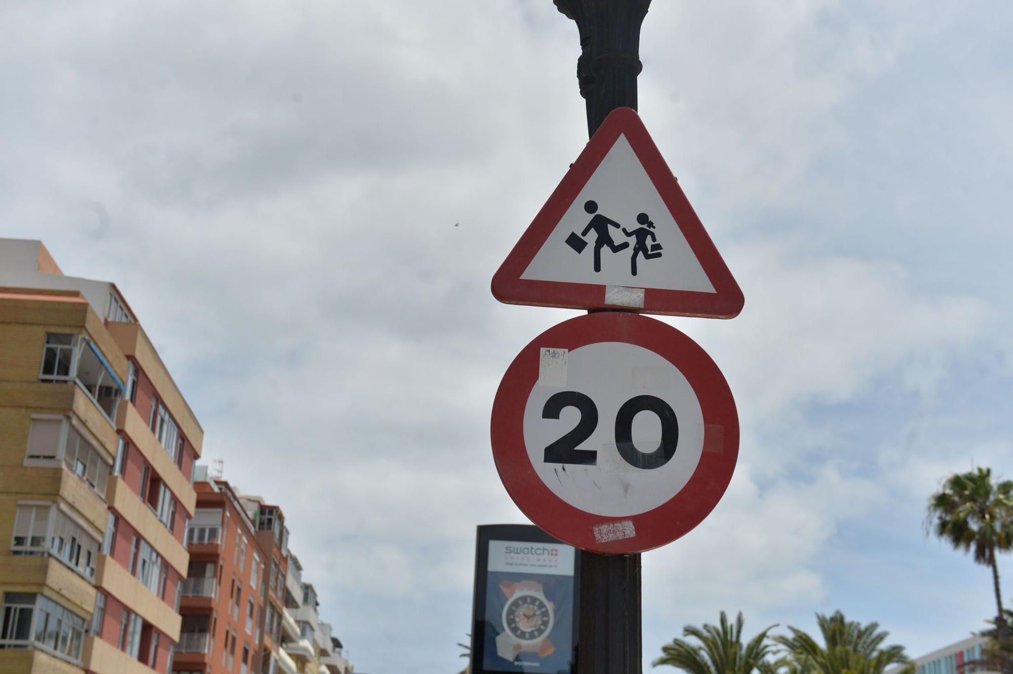 Las Palmas de Gran Canaria, una ciudad entre 20 y 80 por hora