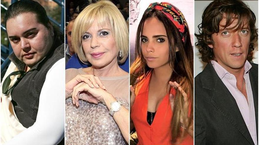Falete, Bárbara Rey, Gloria Camila y Colate, nuevos concursantes de 'Ven a cenar conmigo: Gourmet Edition'