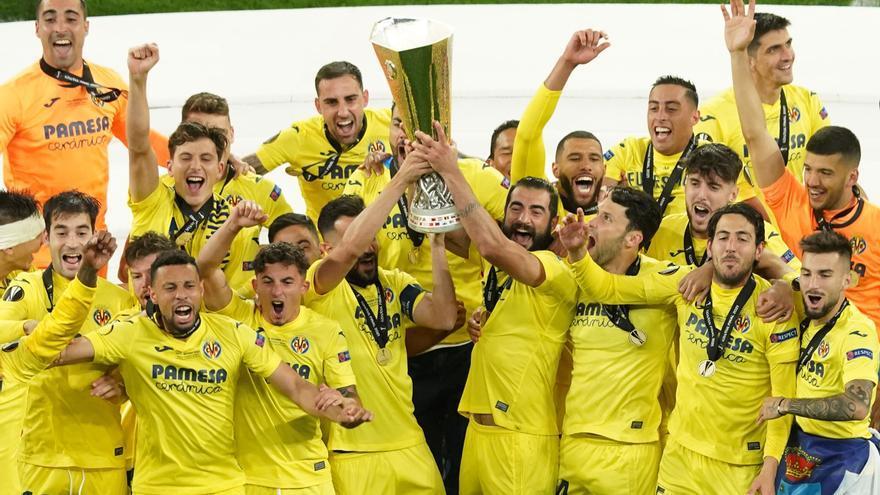 El Villarreal hace historia al conquistar la Europa League ante el United