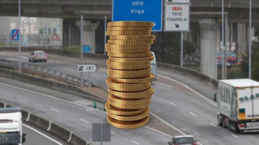 Un camión paga 49 euros de peaje por la AP-9 pero circulará gratis por 600 km en el levante