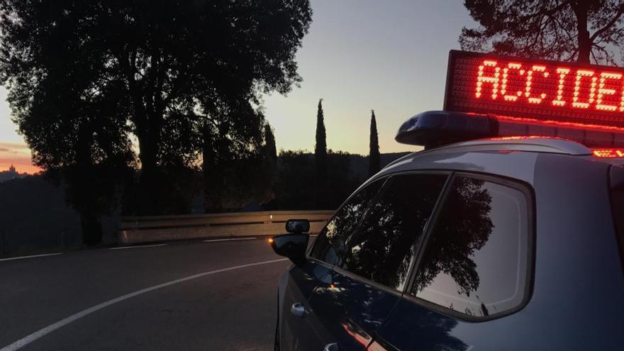 Mor una dona de 55 anys arran d'una col·lisió frontal a l'N-II a Vidreres