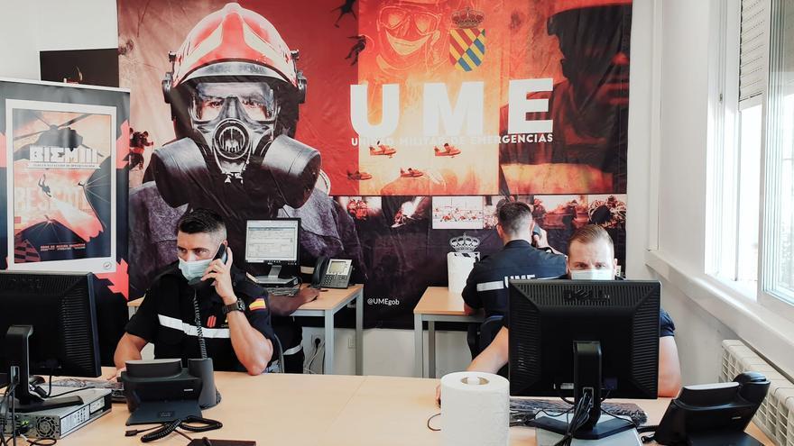 Comienzan su labor de rastreo de contagios por covid los 30 primeros militares de la UME