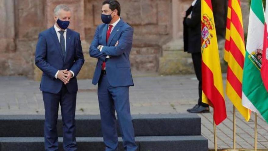 """El presidente andaluz avisa a Sánchez de que no permitirá """"agravios territoriales"""""""