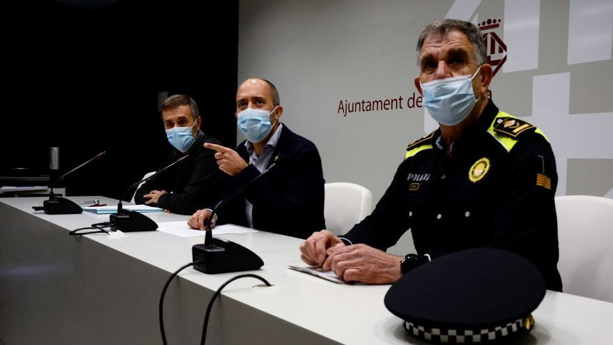 Marc Aloy diu que la pressió de Barcelona contra els delinqüents n'ha dut a Manresa