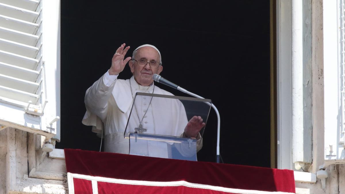 El Papa Francisco, en el balcón del Vaticano.